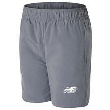 liverpool training shorts woven pocket elite - grey - training shorts