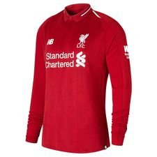 liverpool home shirt 2018/19 l/s - football shirts
