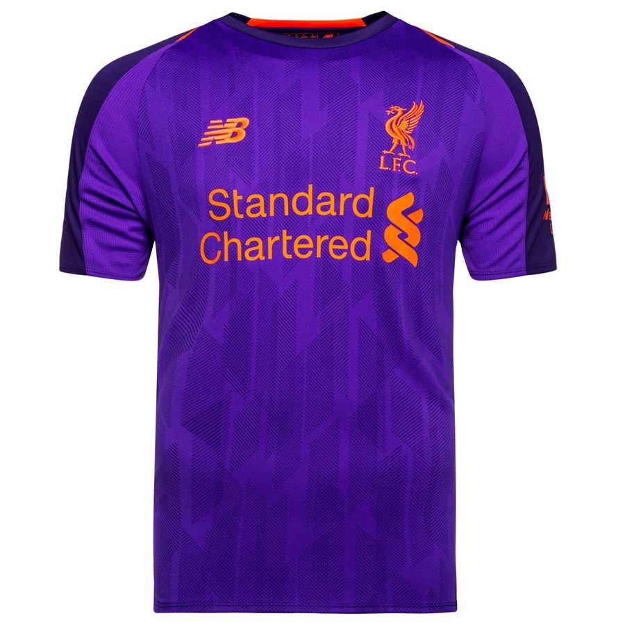 Liverpool Ausw 228 Rtstrikot 2018 19 Www Unisportstore De