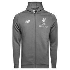 Liverpool Luvtröja FZ Elite - Grå/Vit