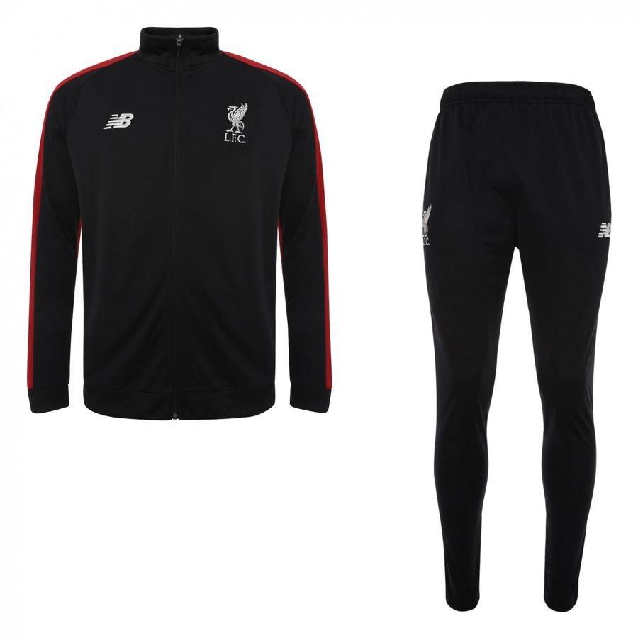 Liverpool Survêtement Presentation Elite - Noir/Rouge