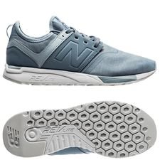 new balance classic 247 - blue/white women - sneakers