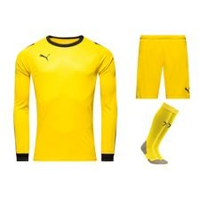puma goalkeepers kit  liga - yellow/black - football shirts
