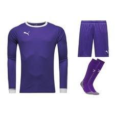 puma goalkeepers kit  liga - prism violet/white - football shirts