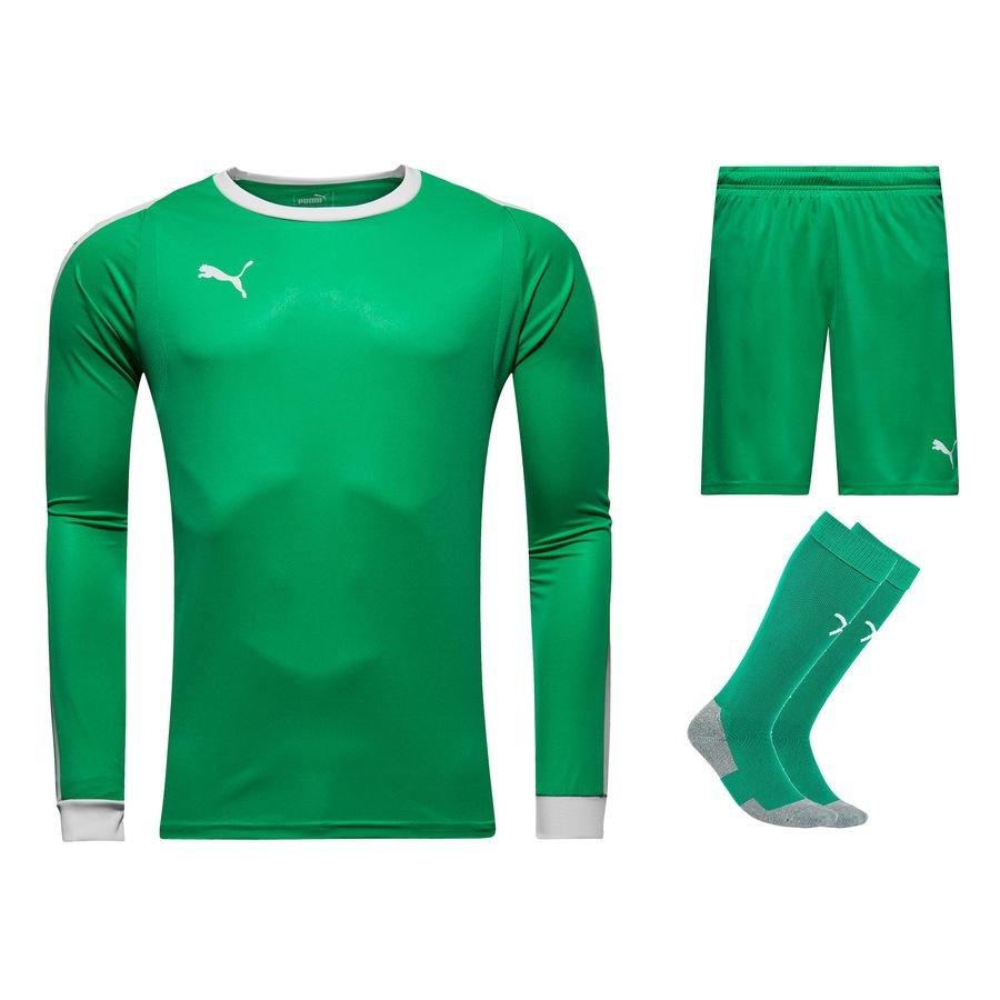 8e02edb7f PUMA Goalkeepers Kit LIGA - Bright Green White
