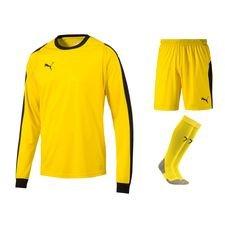 puma målmandssæt liga - gul/sort børn - fodboldtrøjer