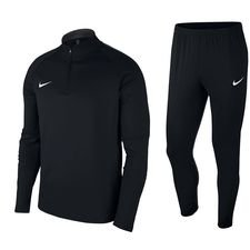 nike tracksuit academy ii - black kids - track suits