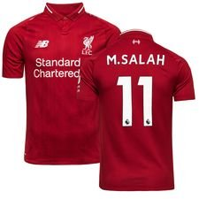 liverpool home shirt 2018/19 m.salah 11 - football shirts
