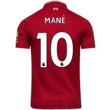 liverpool home shirt 2018/19 mané 10 kids - football shirts