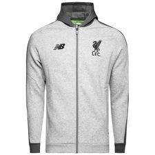 Liverpool Luvtröja FZ Elite - Grå/Svart Barn