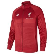 liverpool training jacket walk out elite - red - jackets