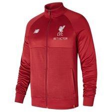 liverpool træningsjakke walk out elite - rød - jakker