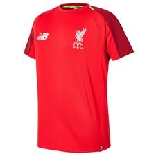 liverpool trænings t-shirt elite - rød - t-shirts