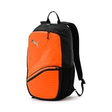 puma ryggsäck ftblnxt uprising - orange/svart - väskor