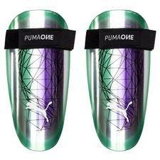 882a0aee PUMA Leggskinn One Illuminate Pack - Lilla/Turkis/Hvit Herre  04059506121067, 04059506121074