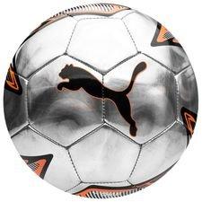 puma fodbold one laser uprising pack - sølv/orange/sort - fodbolde