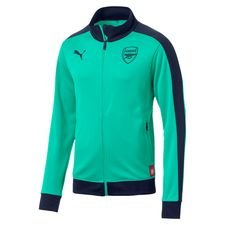 Image of   Arsenal Track Top T7 Fan - Turkis/Navy