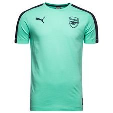 Image of   Arsenal T-Shirt T7 - Turkis/Navy