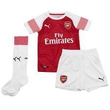 Image of   Arsenal Hjemmebanetrøje 2018/19 Mini-Kit Børn