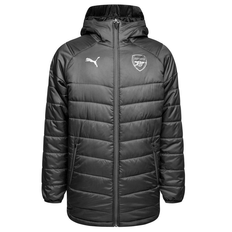 Arsenal Manteau d'Hiver Long Réversible - Gris/Bleu Marine