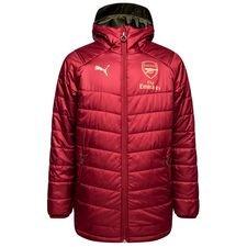 Arsenal Vinterjacka Lång Vändbar - Röd/Brun