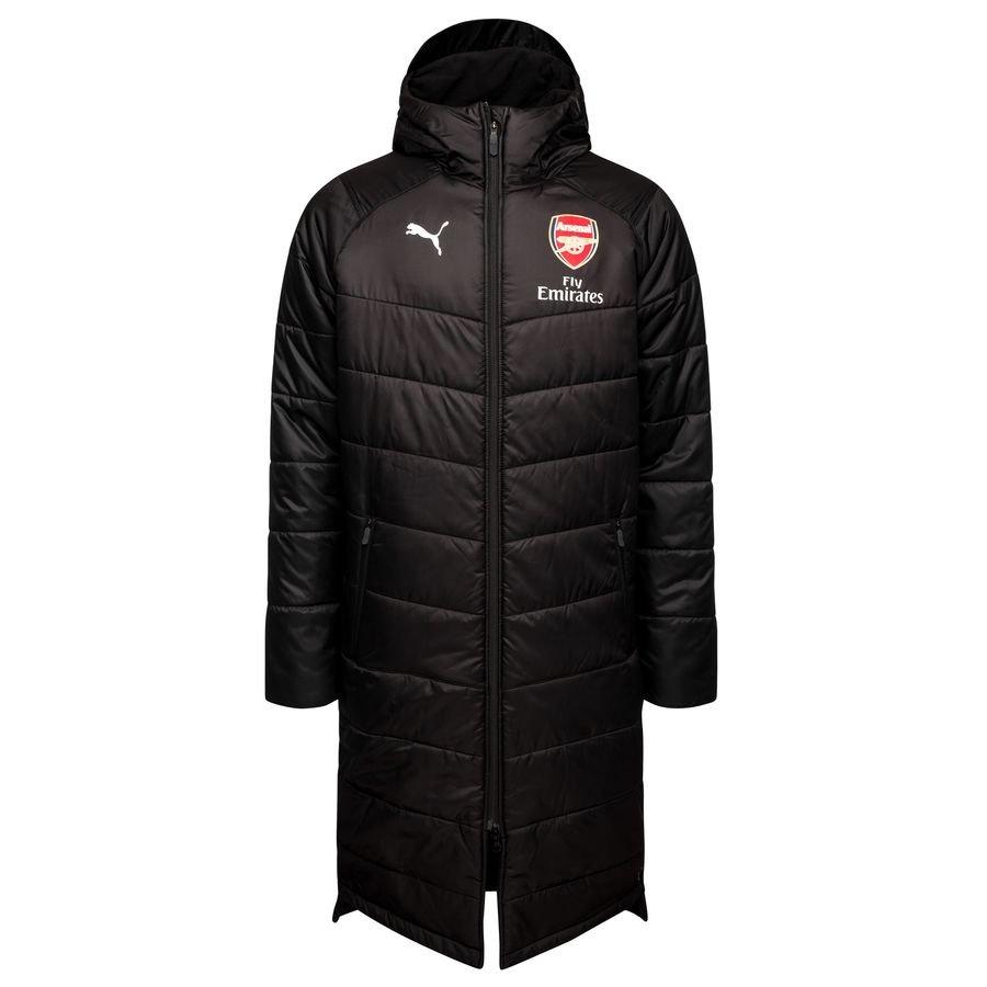 Arsenal Manteau d'Hiver - Noir