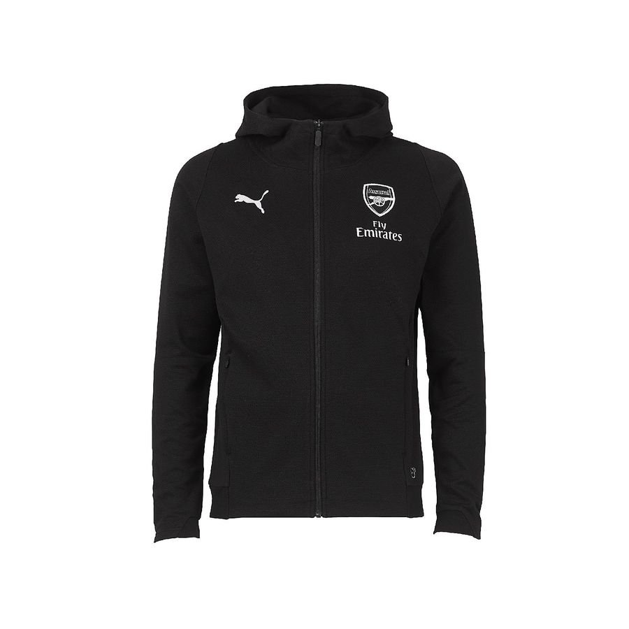 Arsenal Sweat à Capuche Casual FZ - Noir