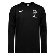 Arsenal Sweatshirt Casual - Svart Barn