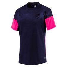 Image of   Arsenal Trænings T-Shirt Graphic - Navy/Pink
