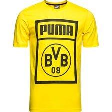 dortmund t-shirt fan - jaune - t-shirts