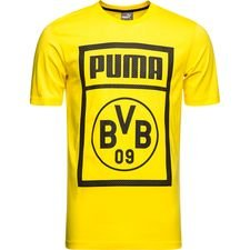 dortmund t-shirt fan - gul børn - t-shirts
