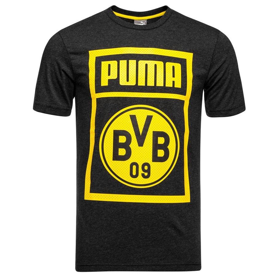 Dortmund T-Shirt - Grå/Gul Børn