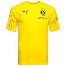 Dortmund Trainingsshirt Stadium - Geel