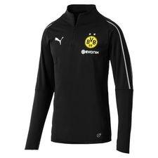 Dortmund Träningströja 1/4 Blixtlås - Svart