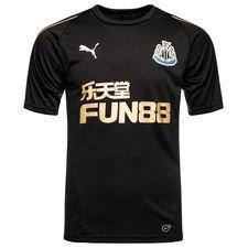 newcastle united trænings t-shirt - sort/guld - træningstrøjer