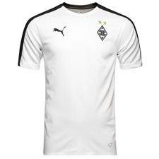 borussia monchengladbach t-shirt d'entraînement stadium - blanc - maillots d'entraînement