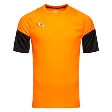 puma trænings t-shirt ftblnxt uprising - orange/sort - træningstrøjer