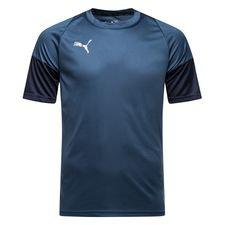 puma t-shirt d'entraînement ftblnxt stun - bleu foncé/bleu marine - maillots d'entraînement