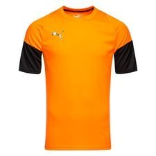 puma tränings t-shirt ftblnxt uprising - orange/svart barn - träningsöverdel