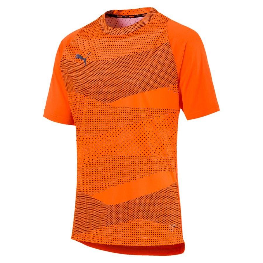 PUMA Trænings T-Shirt ftblNXT Graphic Uprising - Orange/Sort