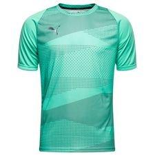 puma trænings t-shirt ftblnxt graphic illuminate pack - turkis - træningstrøjer