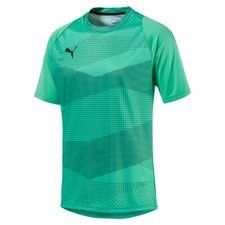 puma trænings t-shirt ftblnxt graphic illuminate pack - turkis - træningstrøjer