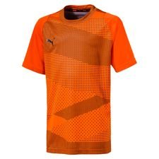 PUMA Trainingsshirt ftblNXT Graphic Uprising - Oranje/Zwart Kinderen