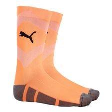 puma sokker ftblnxt uprising - orange/sort - fodboldsokker