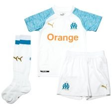 Marseille Hjemmedrakt 2018/19 Mini-Kit Barn