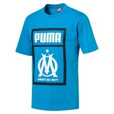Marseille T-Shirt Fan - Bleu Azur