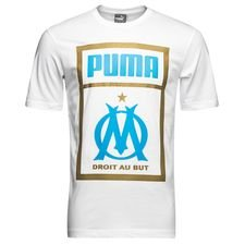 Marseille T-Shirt Fan - Vit