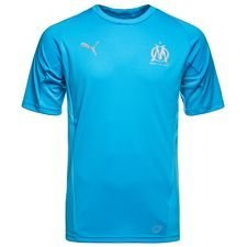 Marseille Training T-Shirt Stadium - Bleu Azur Kids