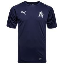 Marseille Training T-Shirt Stadium - Navy Kinder