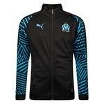 Marseille Veste Stadium - Noir/Bleu